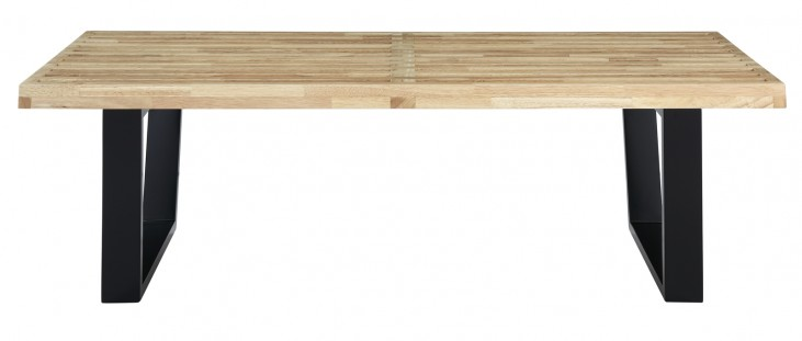 4' Sauna Bench in Natural Wood with Natural Wood Finish