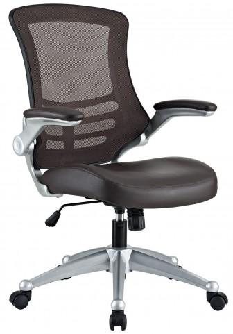 Attainment Brown Office Chair