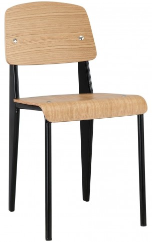 Cabin Natural Black Dining Side Chair
