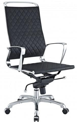 Vibe Black Highback Office Chair