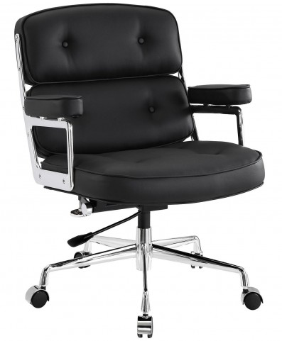 Remix Black Office Chair