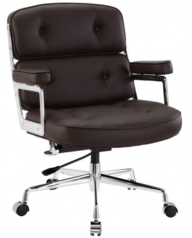 Remix Brown Office Chair
