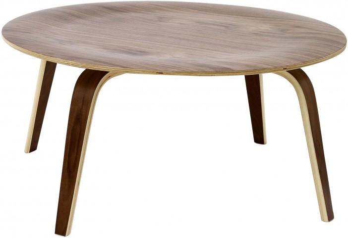Plywood Coffee Table in Walnut