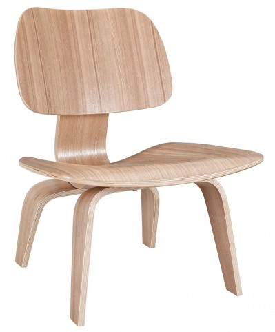 Plywood Lounge Wood Chair in Natural