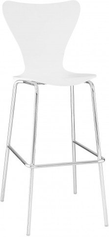Ernie Barstool Chair in White