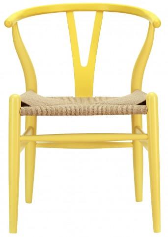 Amish Yellow Wood Armchair