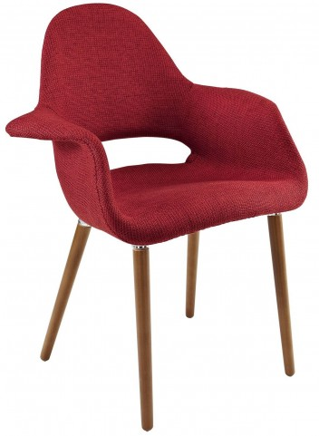 Aegis Red Dining Armchair