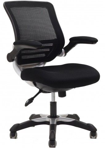 Edge Office Chair with Black Mesh Fabric Seat