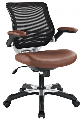 Edge Tan Vinyl Office Chair