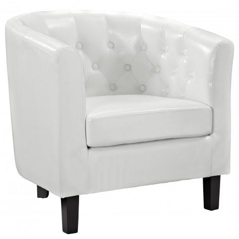 Cheer White Armchair