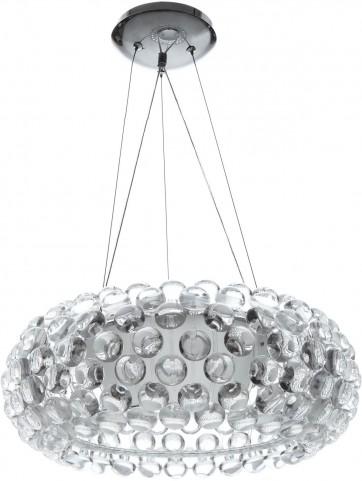 """20"""" Halo Acrylic Crystal Ceiling Fixture"""