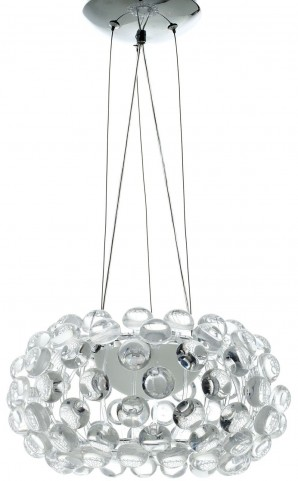 """Halo Clear 14"""" Chandelier"""