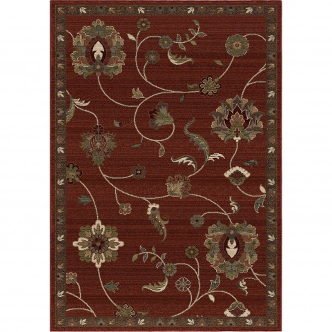 Longstead Red Large Rug