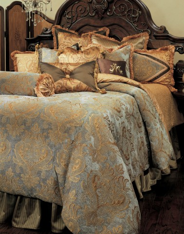 Elizabeth Queen Bedding Set (12pc)