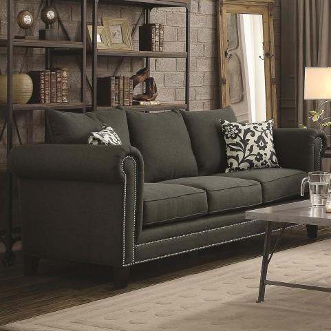Emerson Charcoal Sofa