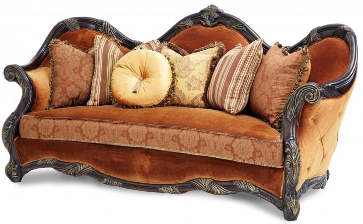 Essex Manor Wood Trim Sofa