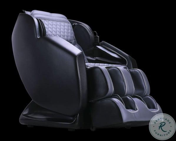 Ergottech Black And Gray Neptune Massage Chair