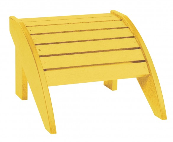 Generations Yellow Footstool