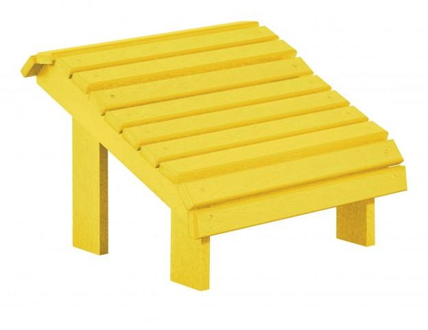 Generations Yellow Premium Footstool