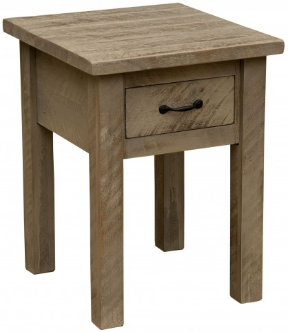 Frontier Driftwood One Drawer Nightstand