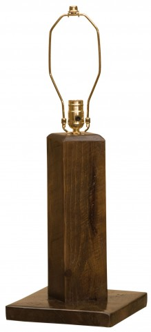 Frontier Barn Brown Table Lamp Without Lamp Shade