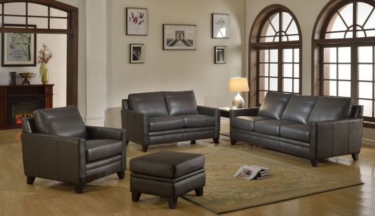 Fletcher Grey Living Room Set
