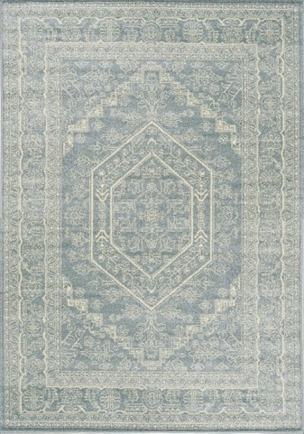 Focus Blue Medallion Medium Rug