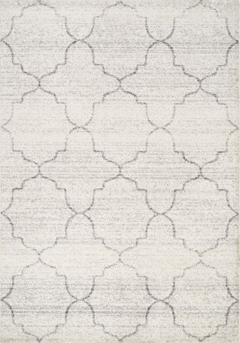 Focus Grey Ogee Medium Rug