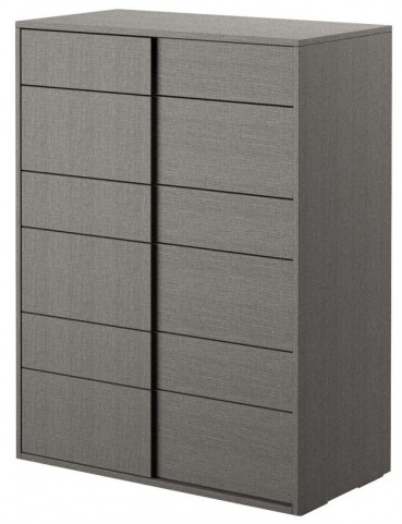 Vivente Forte Matte Grey High Chest