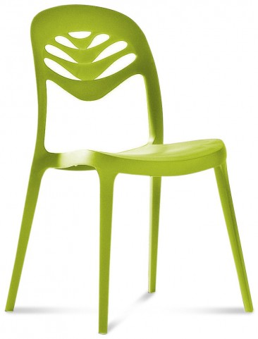 ForYou2 Green Stacking Chair Set of 4