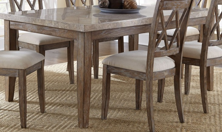 Franco Marble Top Dining Table
