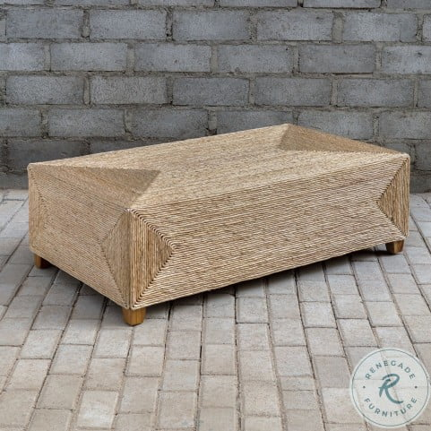 Rora Natural Woven Occasional Table Set