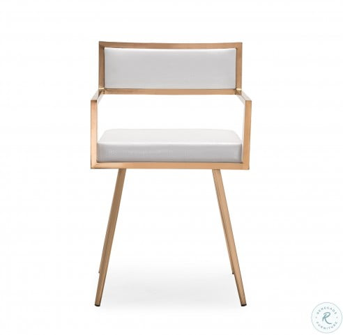 Marquee White Croc Arm Chair Set Of 2 From Tov Available