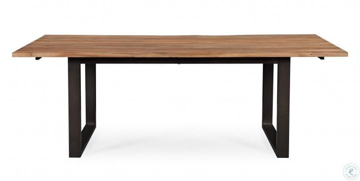 Carter Rustic Elm Rectangular Dining Table