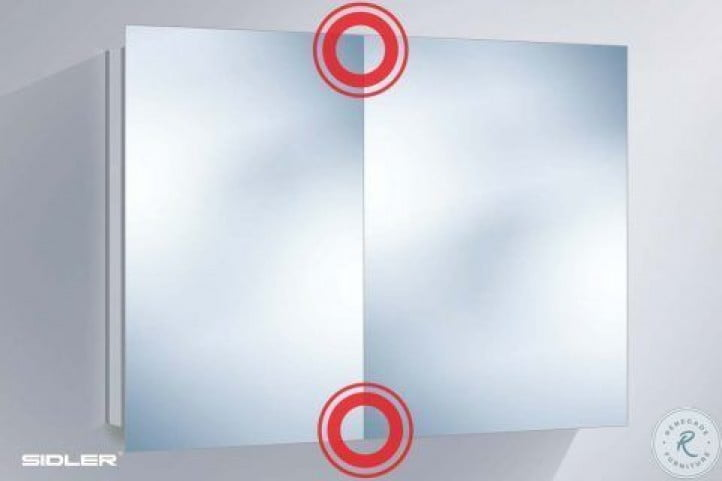 "Modello 23"" Large Electric Bathroom Cabinet"