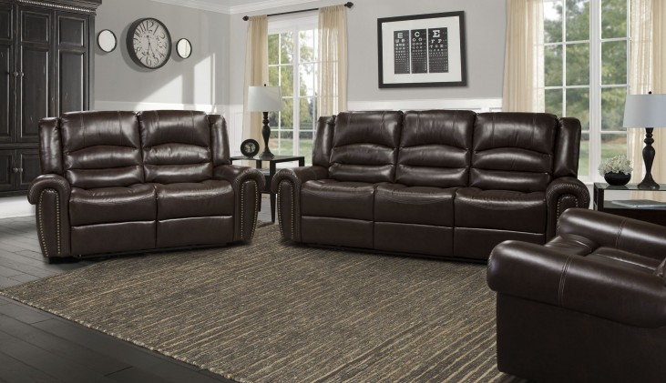Gershwin Java Dual Power Reclining Living Room Set