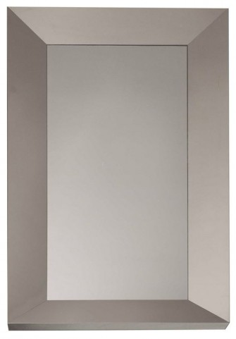 Xena Glam Stainless Steel Wall Mirror