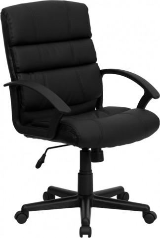 Eco-Friendly Black Swivel Office Chair
