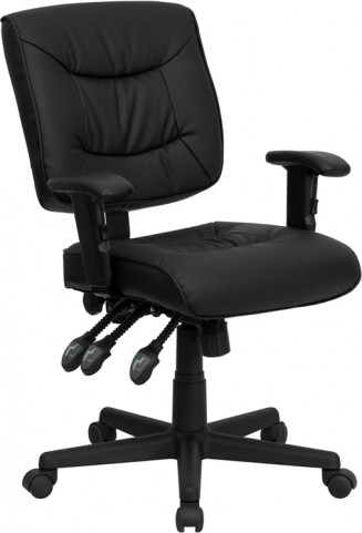 1000924 Black Multi Functional Task Chair