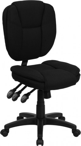 1000966 Black Multi Functional Ergonomic Task Chair