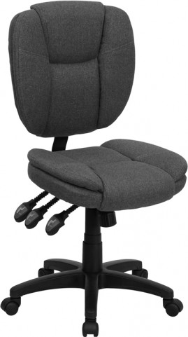 Gray Multi Functional Ergonomic Task Chair