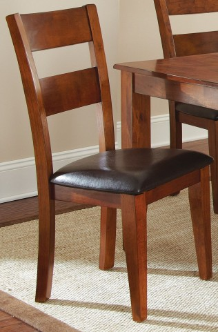 Mango Medium Brown Side Chair Set of 2