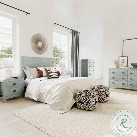 Asheville Grey Wooden Dresser