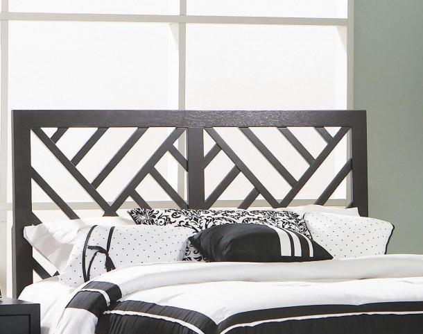 Grove Black Queen/Full Bed Headboard