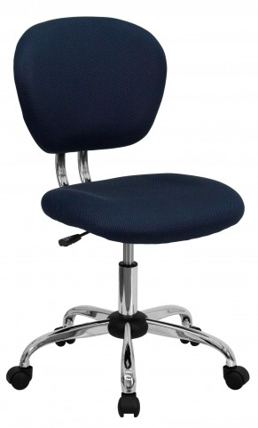 Mid-Back Navy Task Chair