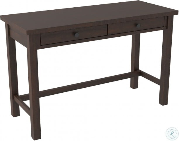 "Camiburg Warm Brown 47"" Trestle Home Office Desk"