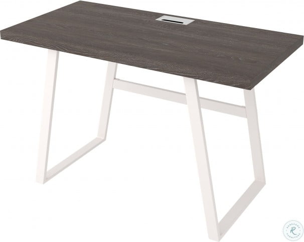 "Dorrinson Two Tone 47"" Home Office Desk"