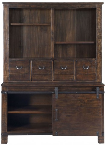 Pine Hill Rustic Pine Storage Cabinet