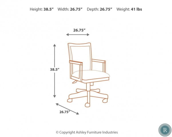 Hamlyn Swivel Arm Chair