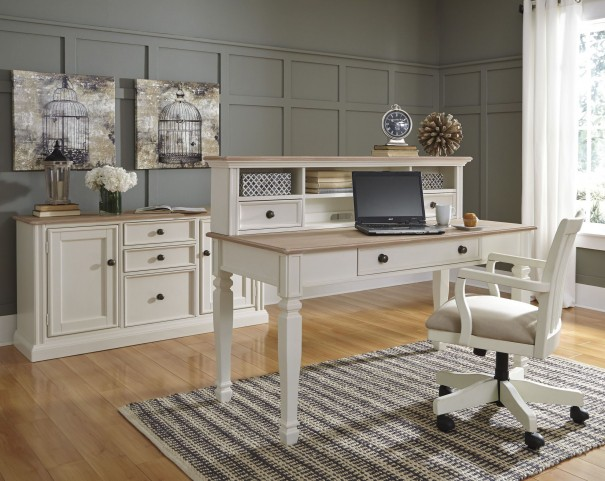 Sarvanny Two-tone Home Office Set